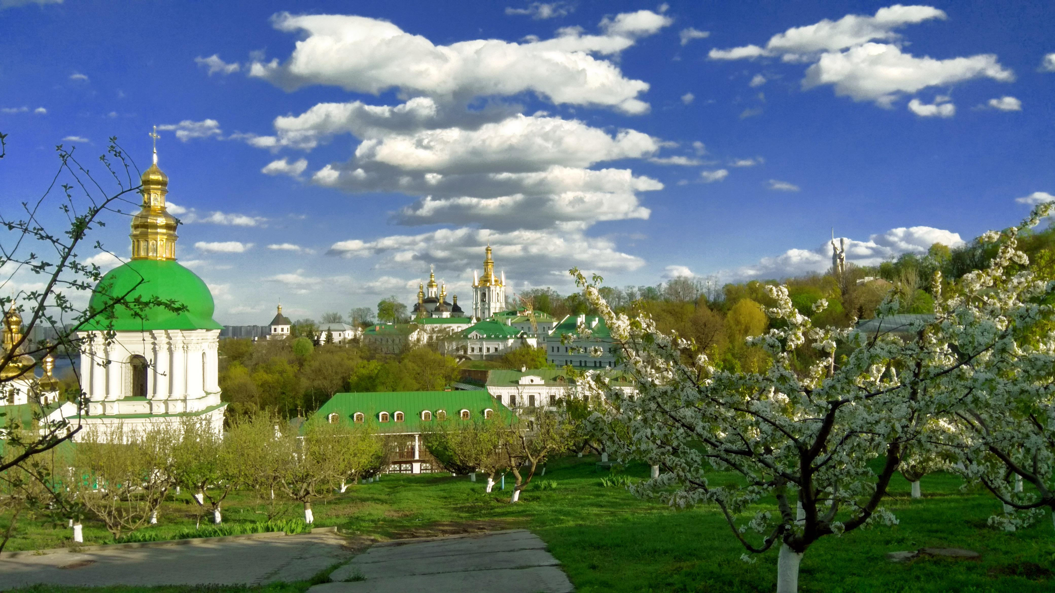 HDoboi.Kiev.ua - Печерская Лавра картинки, собор, церковь, храм