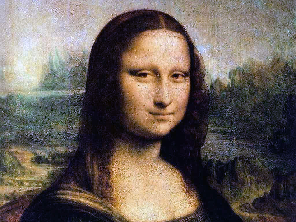 Леонардо Да Винчи - Мона Лиза, живопись, искусство, hd обои, 1024 на 768 пикселей