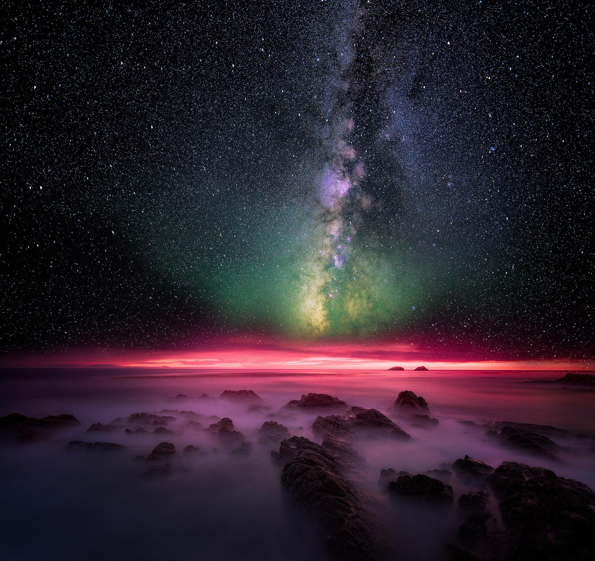HDoboi.Kiev.ua - Млечный путь - звезды 4k, космос, вселенная