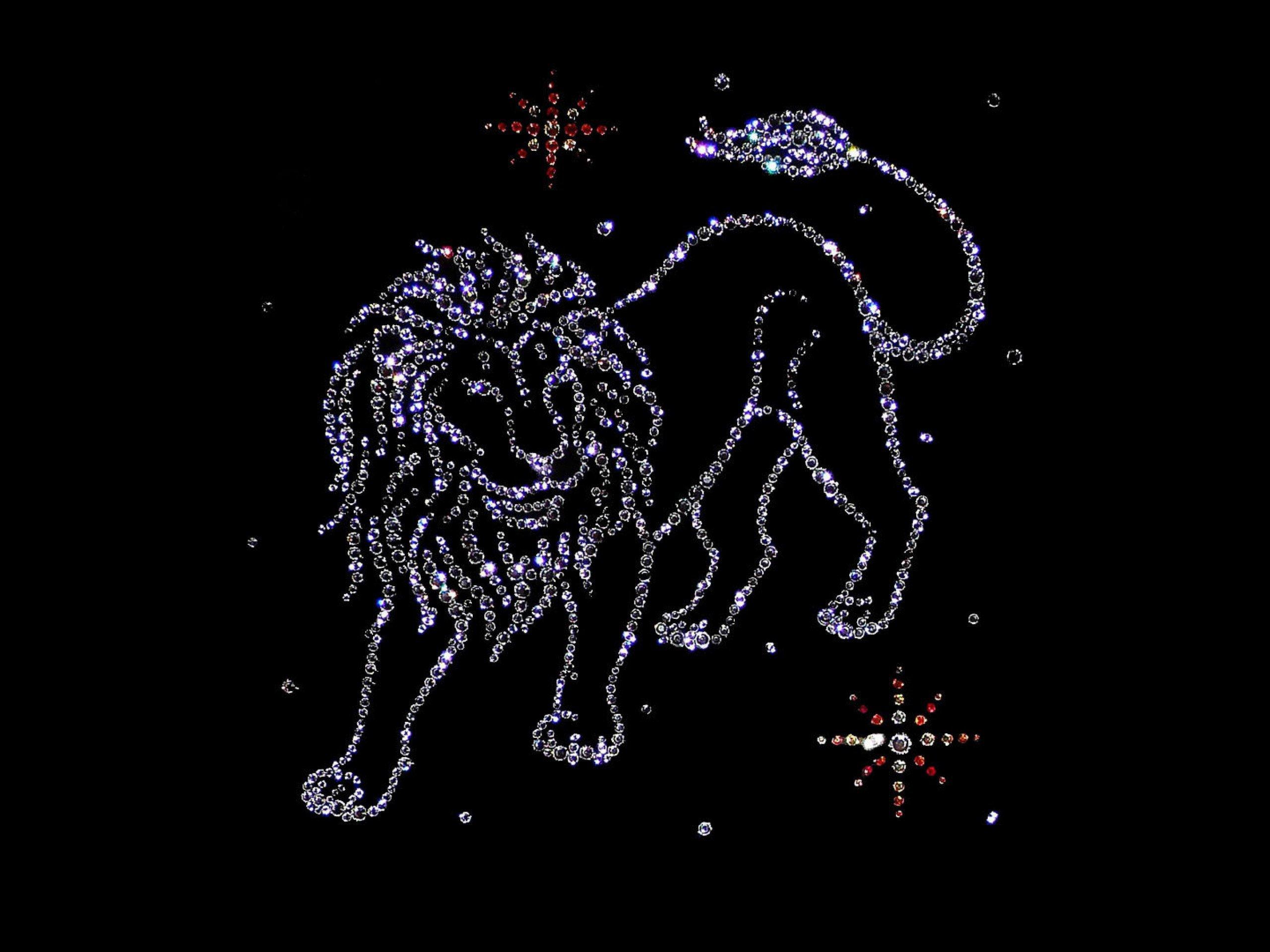 Знак зодиака Лев, топ заставки на рабочий стол, 2560 на 1920 пикселей