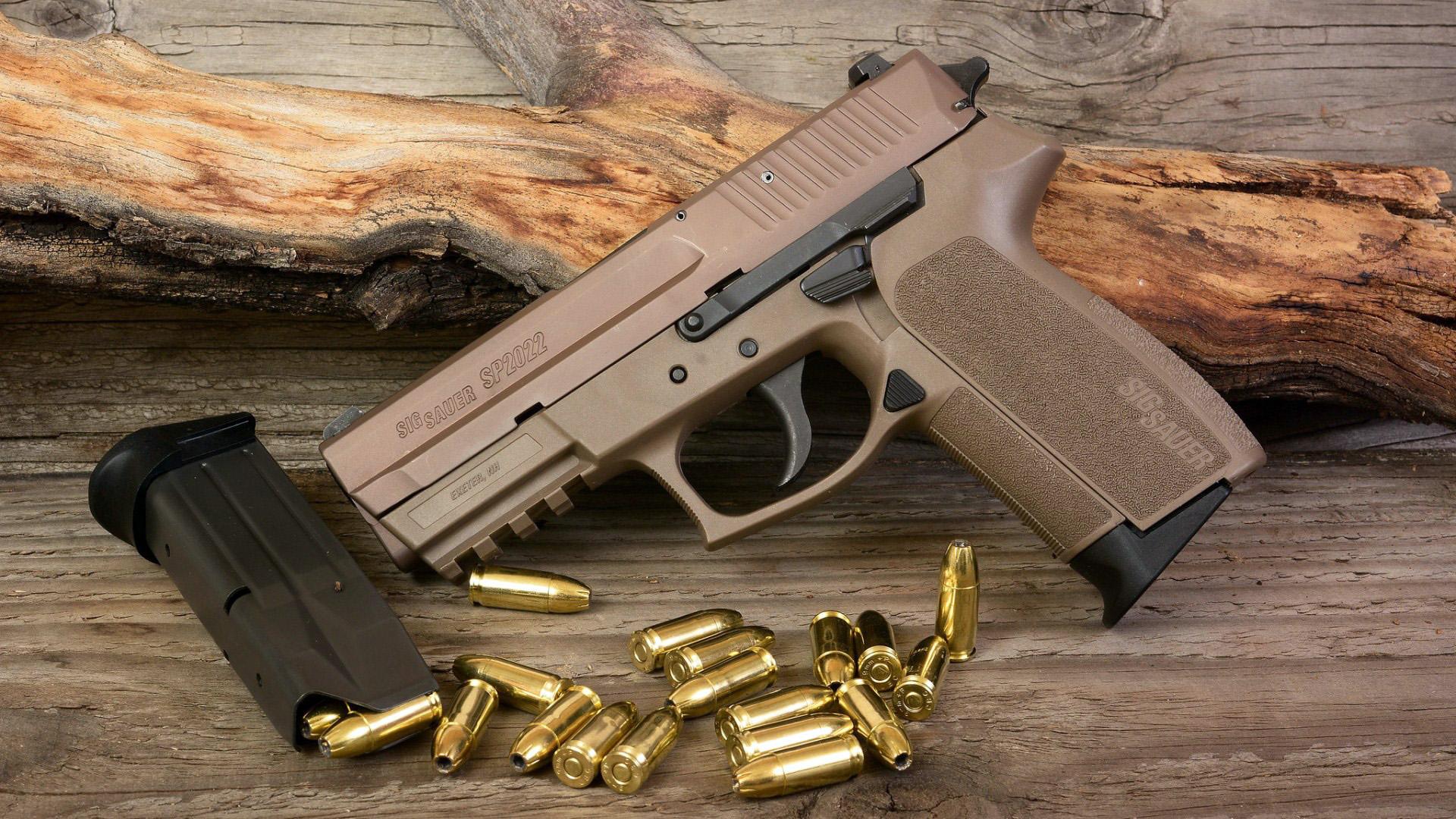 HDoboi.Kiev.ua - Пистолет Sig Sauer P2022, обои на телефон андроид скачать оружие