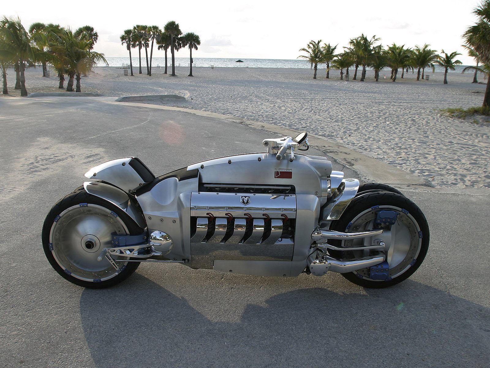 HDoboi.Kiev.ua - Dodge Tomahawk concept, скачать обои крутых мотоциклов