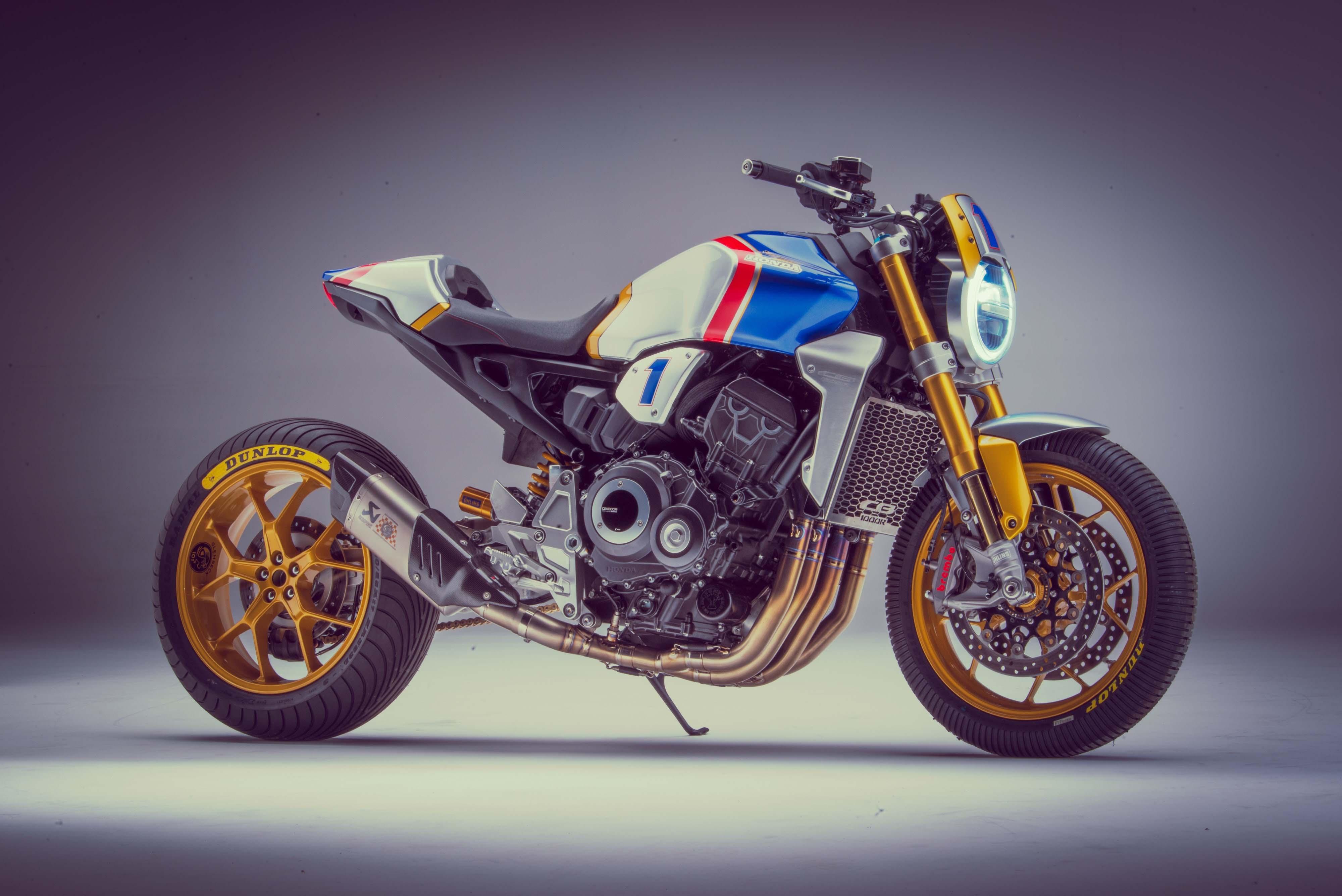 HDoboi.Kiev.ua - Мотоцикл Honda CB1000R, 4к обои мото