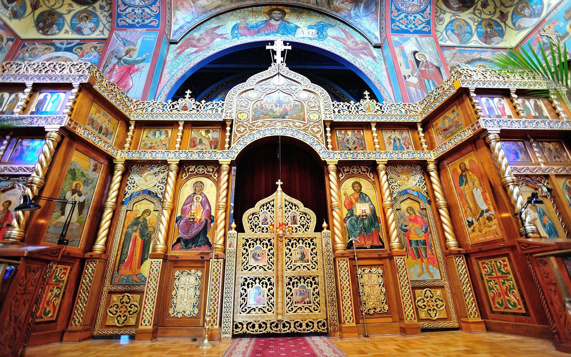 HDoboi.Kiev.ua - Собор Пресвятой Богородицы, 8 января, скачать картинку для фона рабочего стола