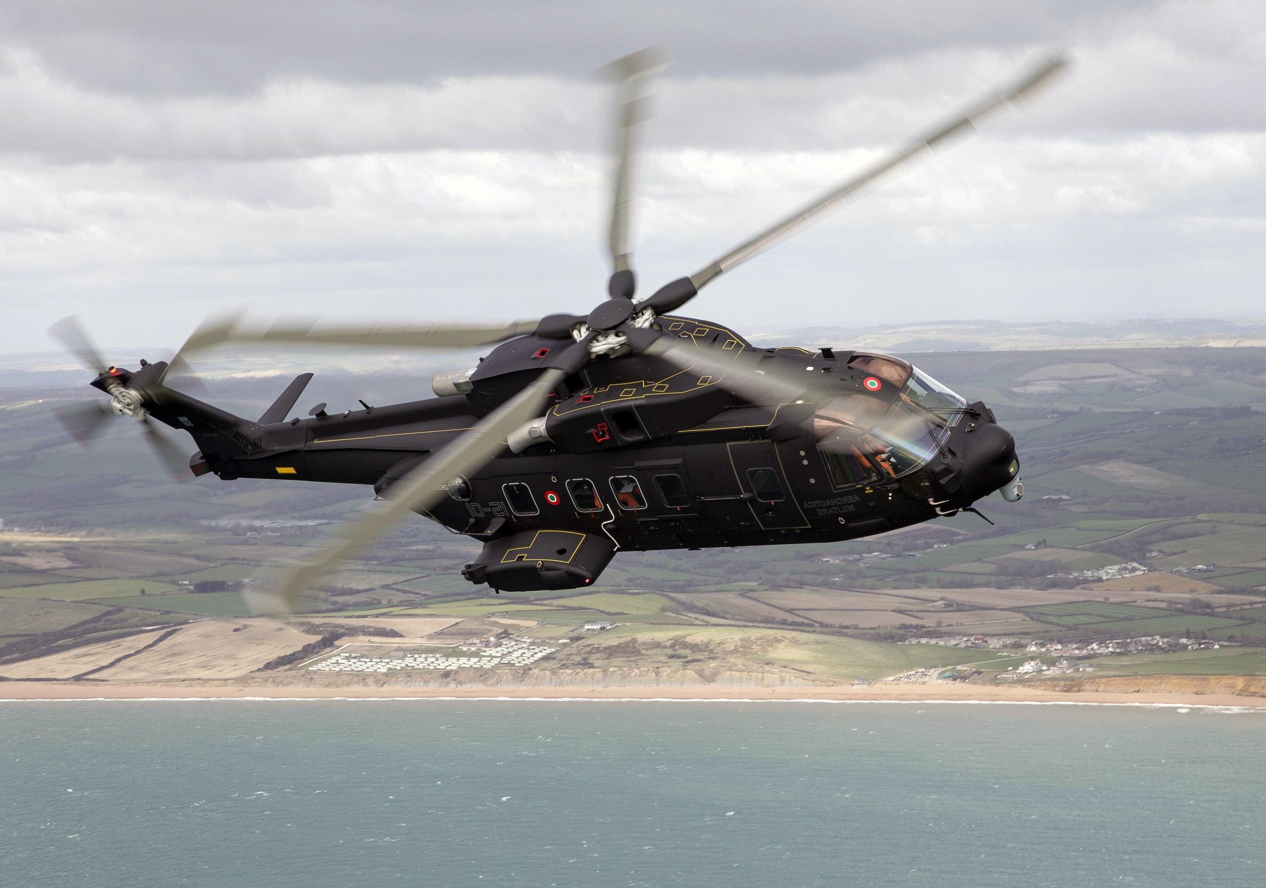 HDoboi.Kiev.ua - Боевой вертолет HH-101A Caesar, вертолет обои смартфон