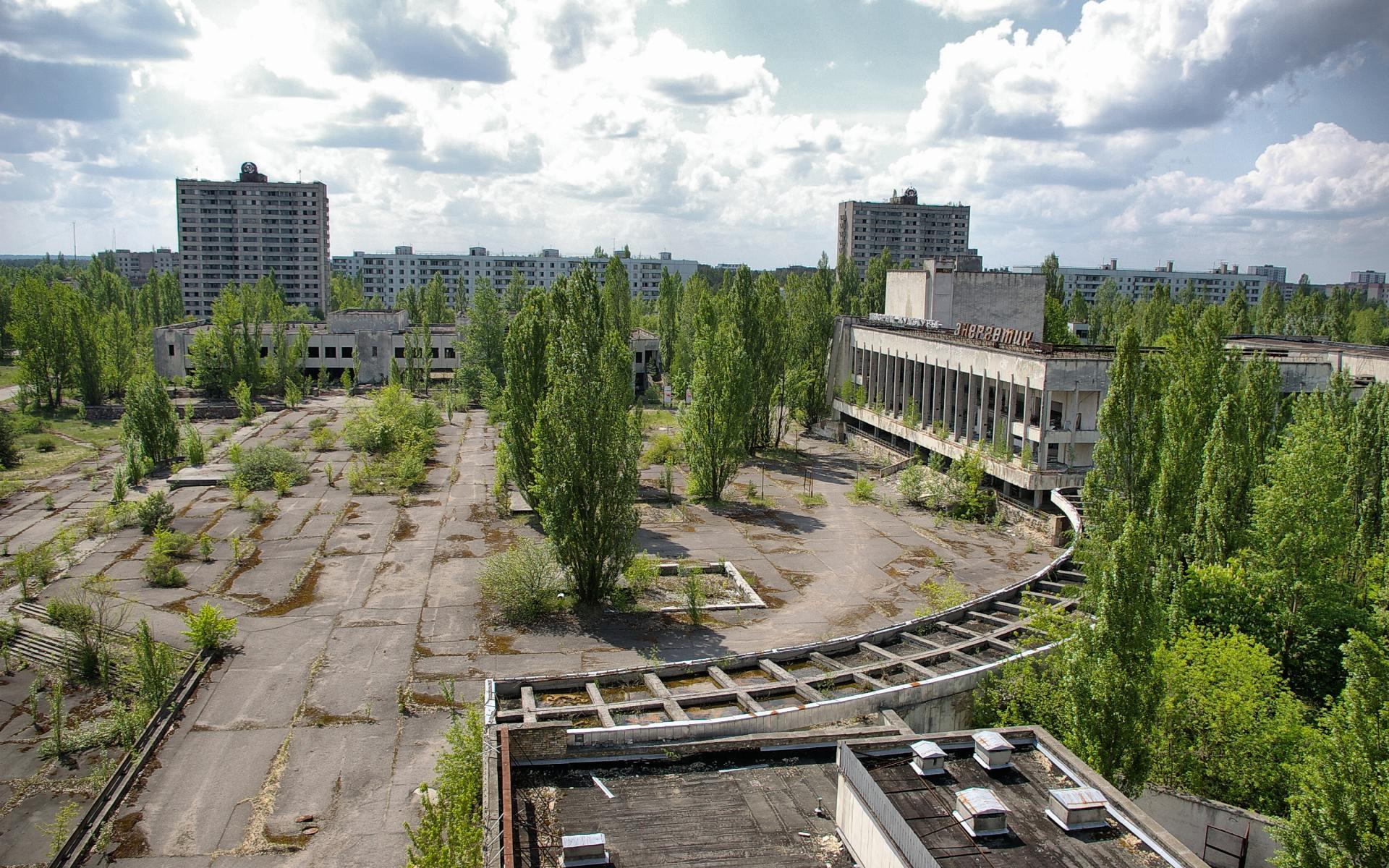 HDoboi.Kiev.ua - Припять, город призрак, обои Чернобыль айфон