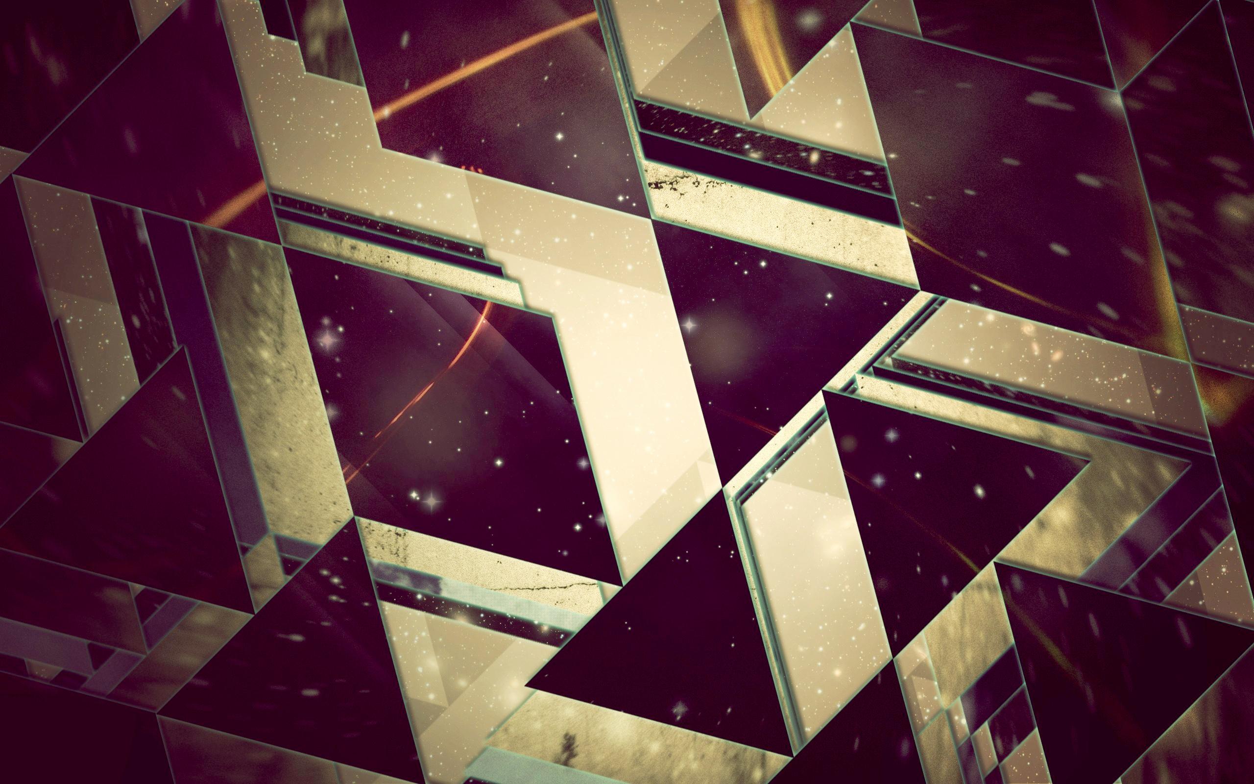 Треугольники, triangles, обои iphone абстракция, 2560 на 1600 пикселей