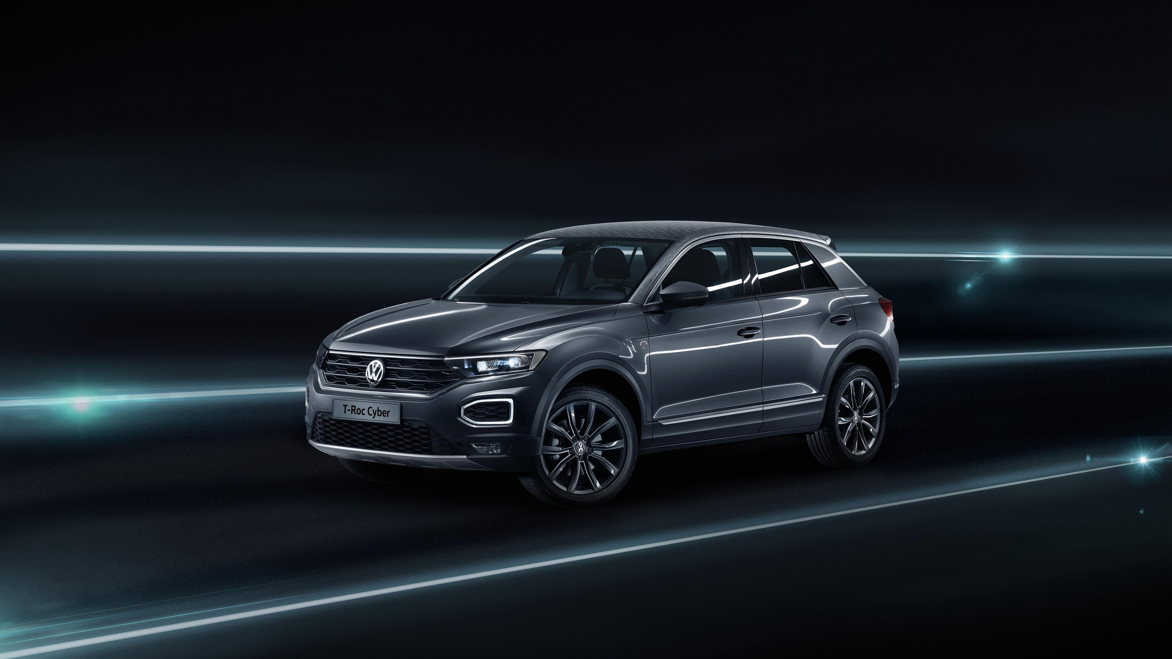 HDoboi.Kiev.ua - Volkswagen T Roc Cyber Special Edition, 4к обои для телефона автомобили