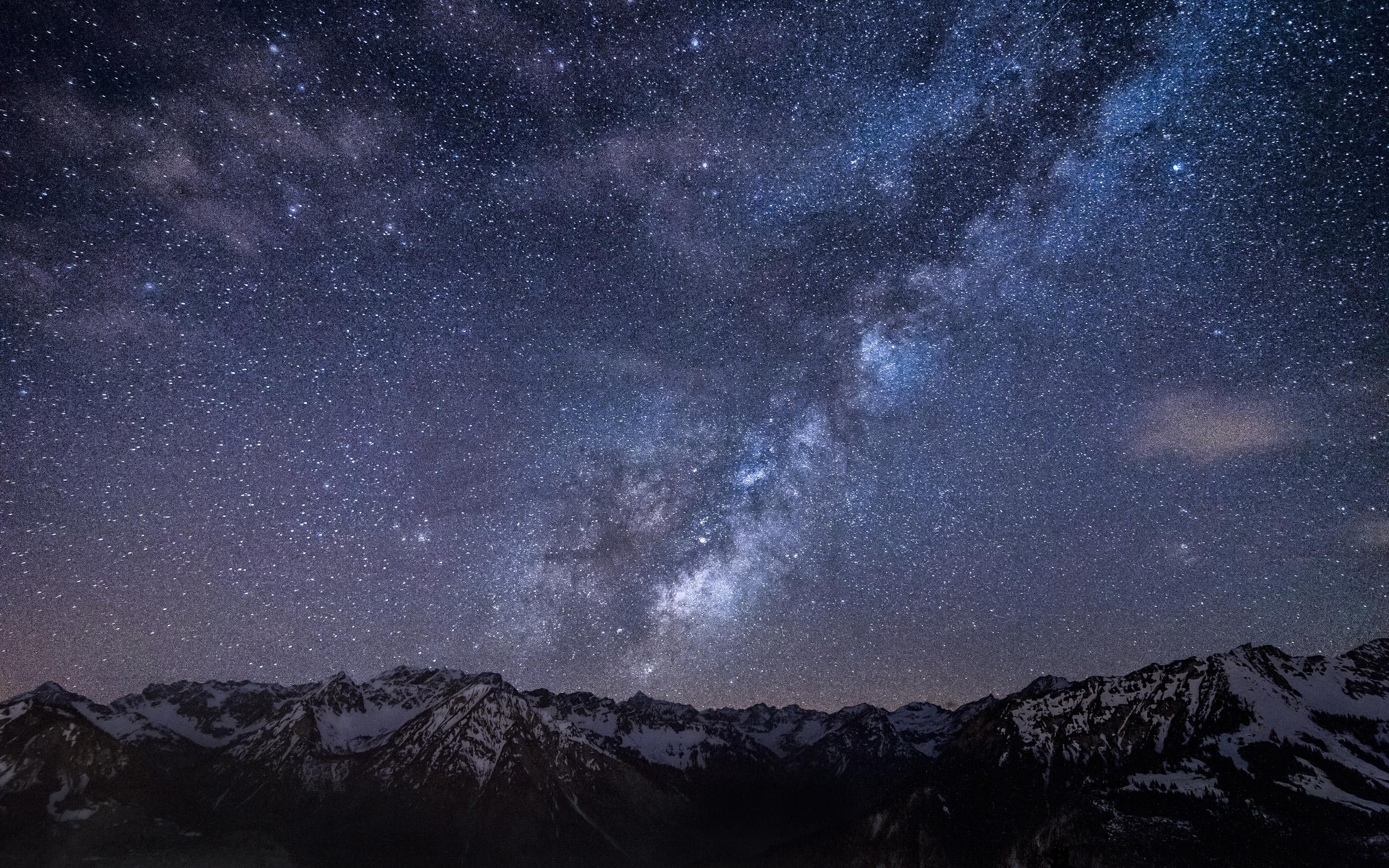 Млечный путь, галактика, обои рабочего стола телефон космос, 2560 на 1600 пикселей