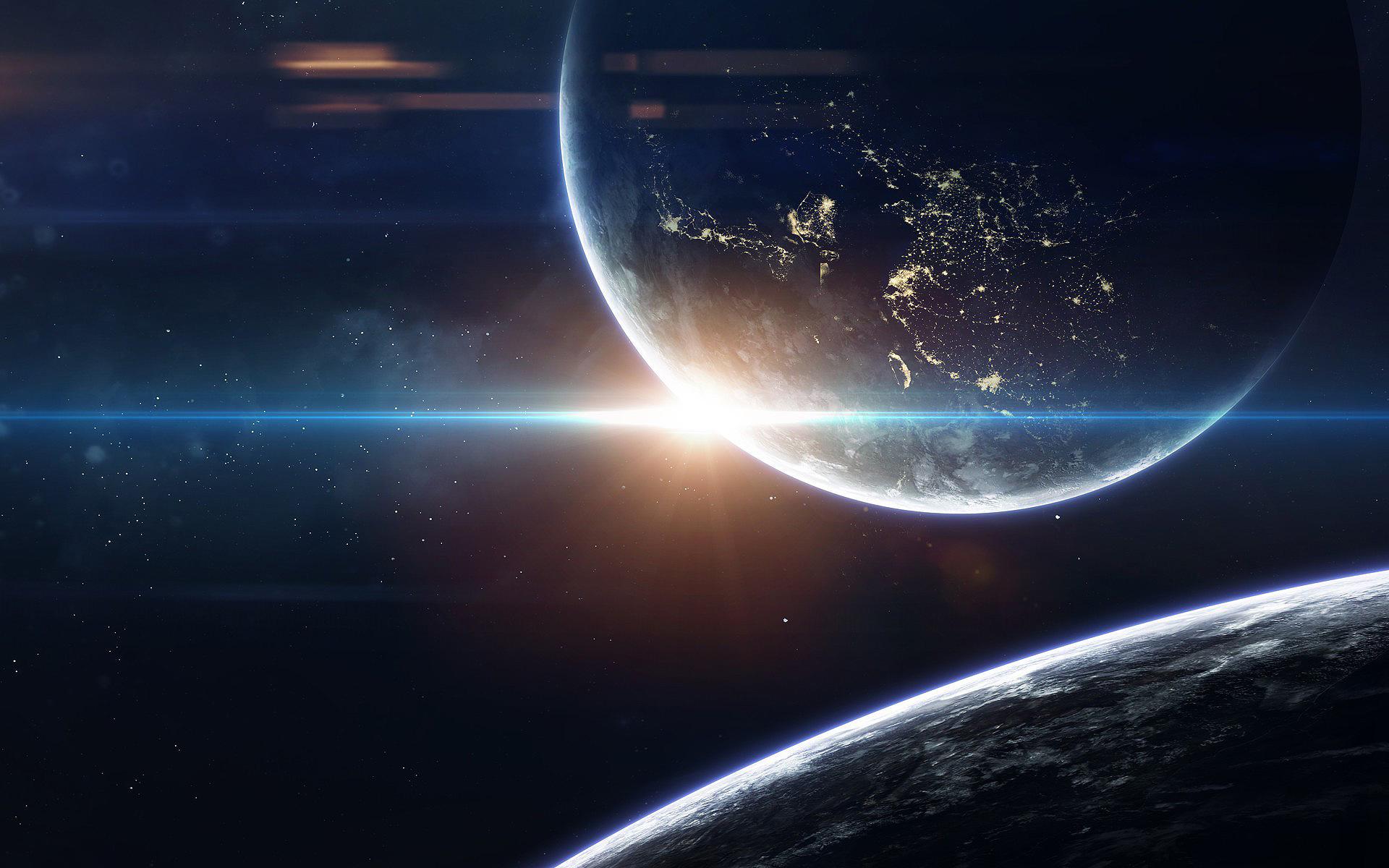 HDoboi.Kiev.ua - Огромные планеты во вселенной, обои на айфон xs космос