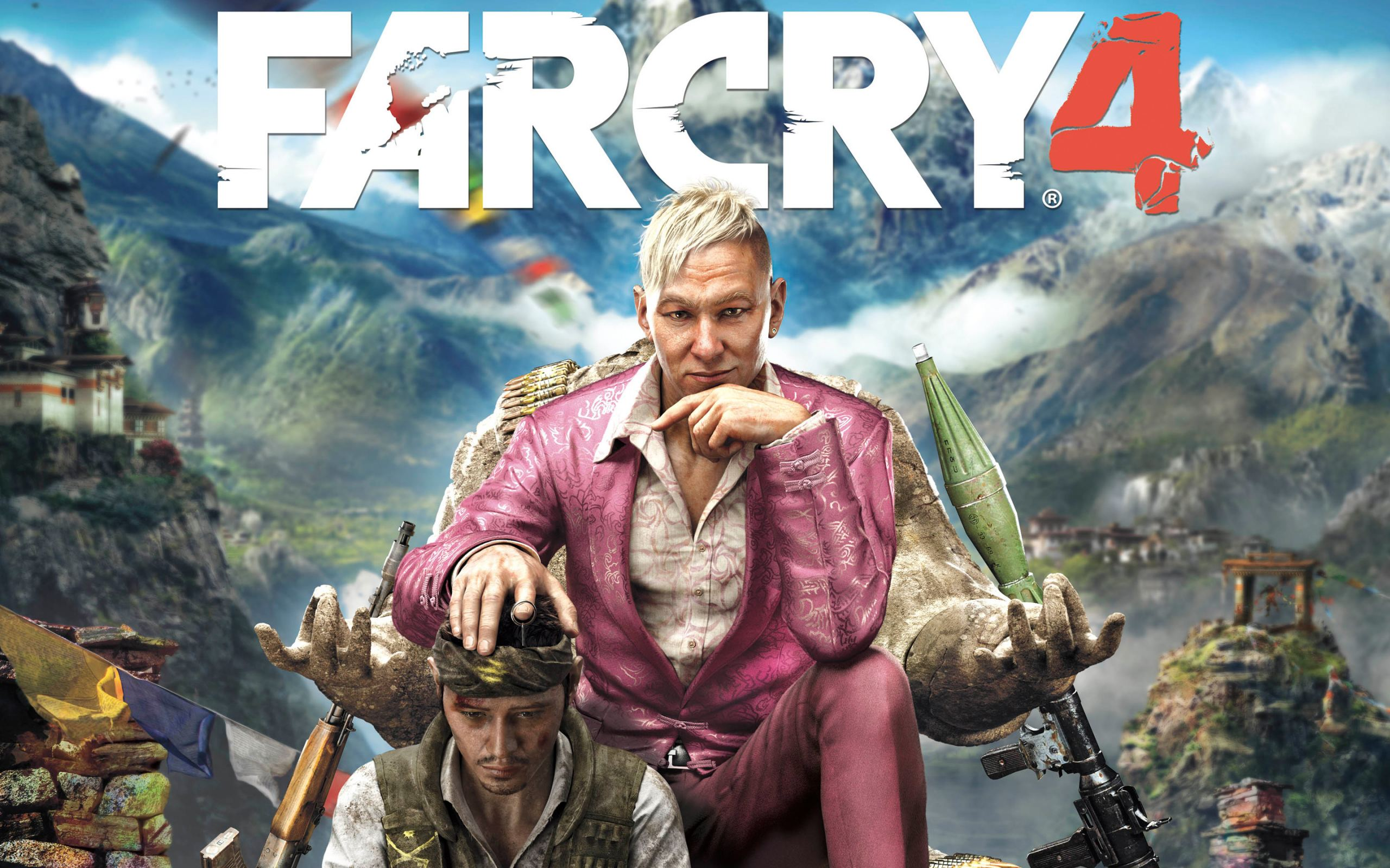 Far Cry 4 wallpaper, Фар край, 2560 на 1600 пикселей
