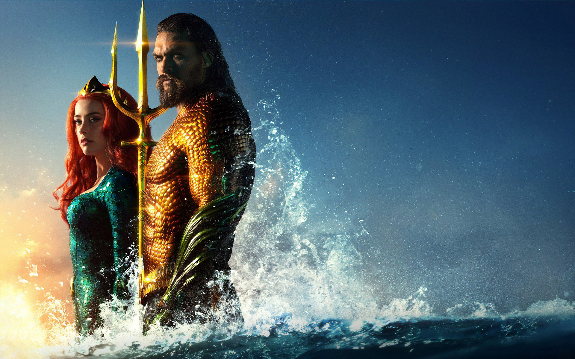 HDoboi.Kiev.ua - Мера аквамен обои, aquaman 2019 wallpaper, Эмбер Херд