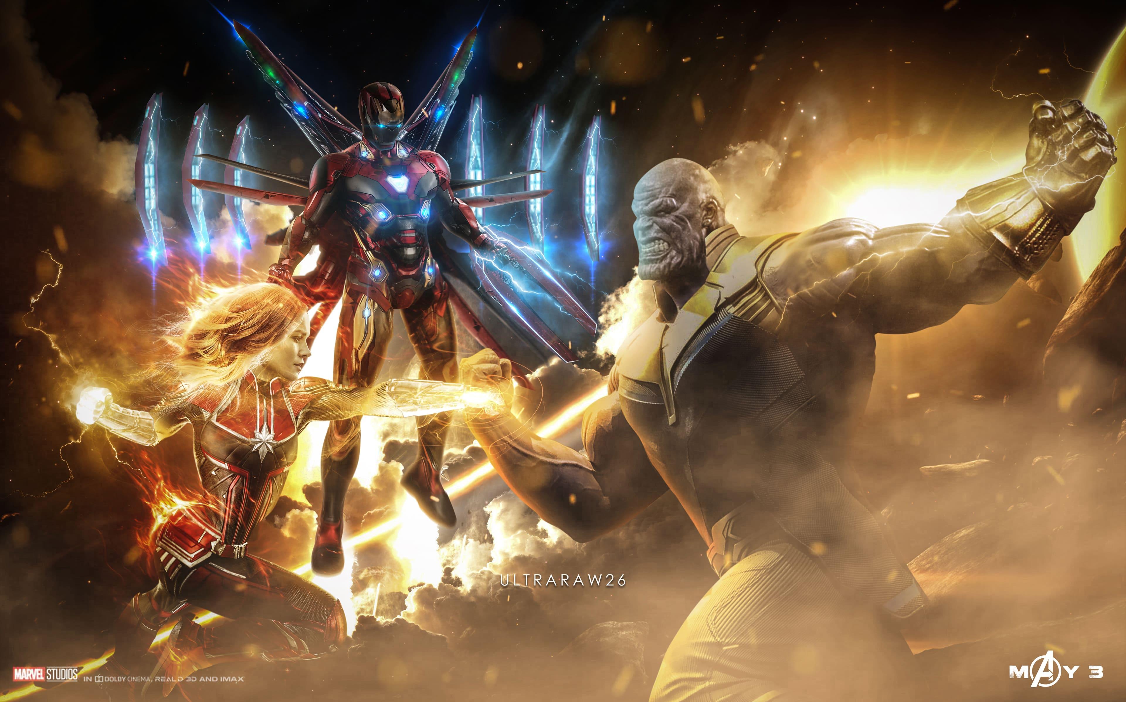 HDoboi.Kiev.ua - Мстители финал картинки на рабочий стол, avengers endgame ultra hd 4k