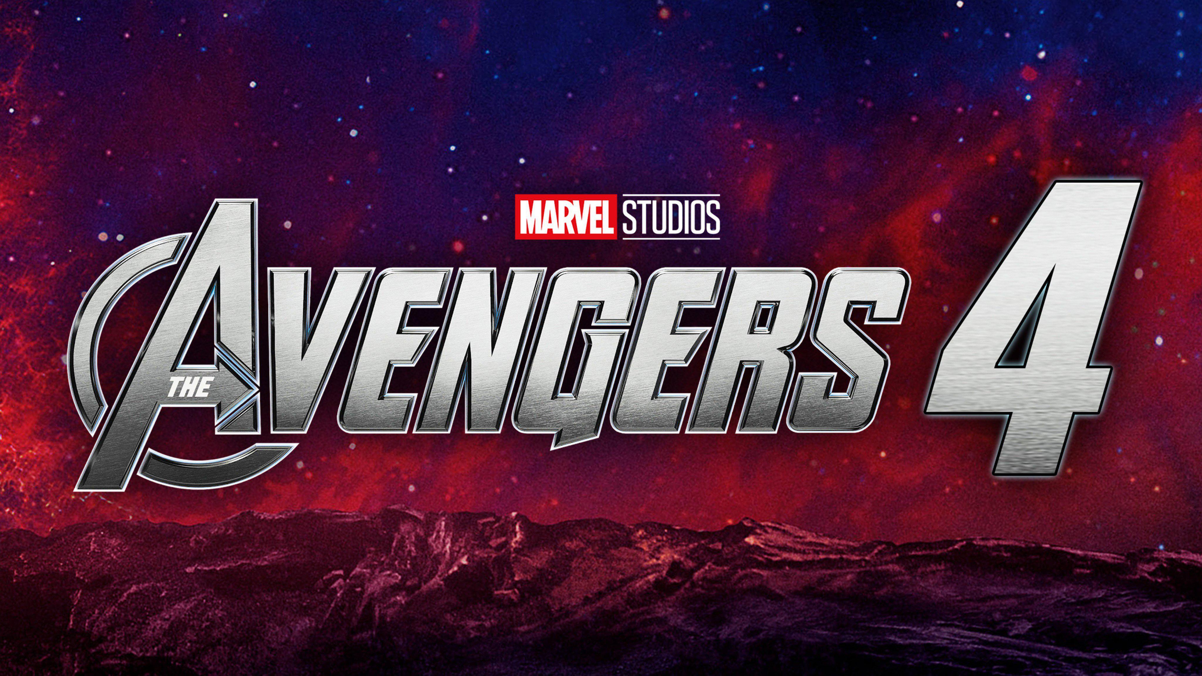 HDoboi.Kiev.ua - Мстители 4 обои на телефон, Avengers wallpaper 4k logo