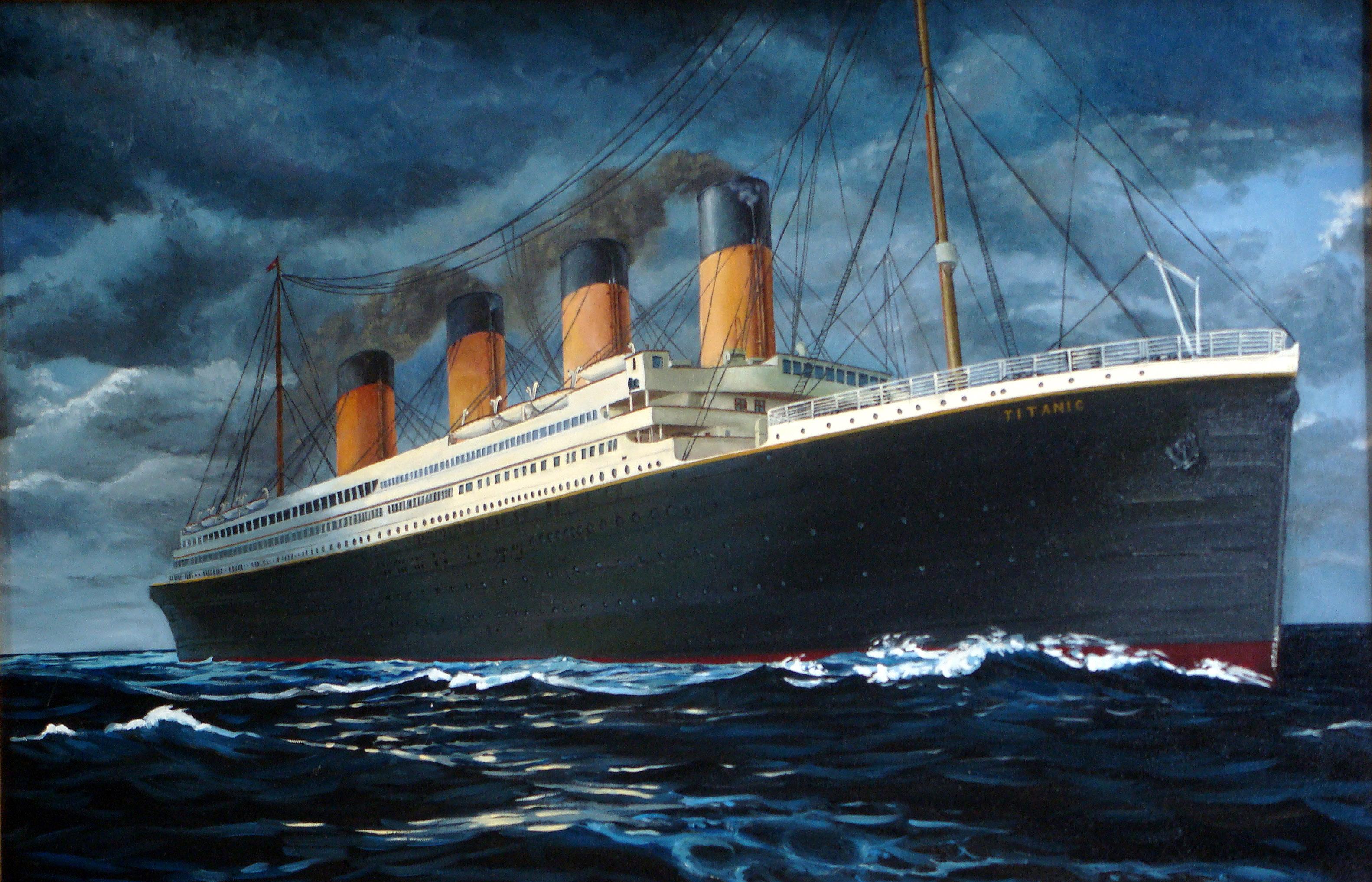 HDoboi.Kiev.ua - Титаник роковой корабль, обои на пк корабли