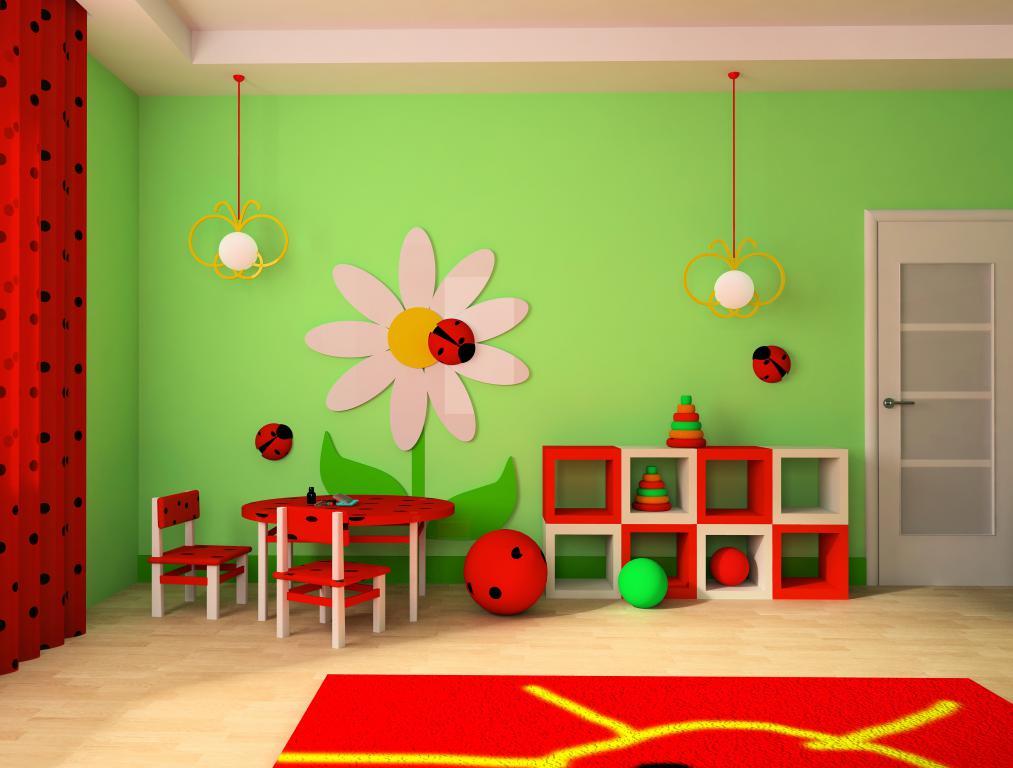 Детской комната, дизайн, интерьер, 4380 на 3320 пикселей