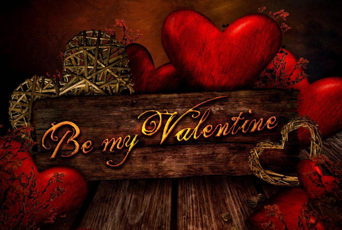 Будь моим Валентином, день Влюбленных, 3840 на 2584 пикселей