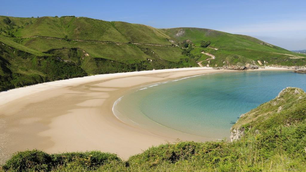 обои широкоформатные хорошего качества, пляж, природа, море, песок, 2560 на 1440 пикселей