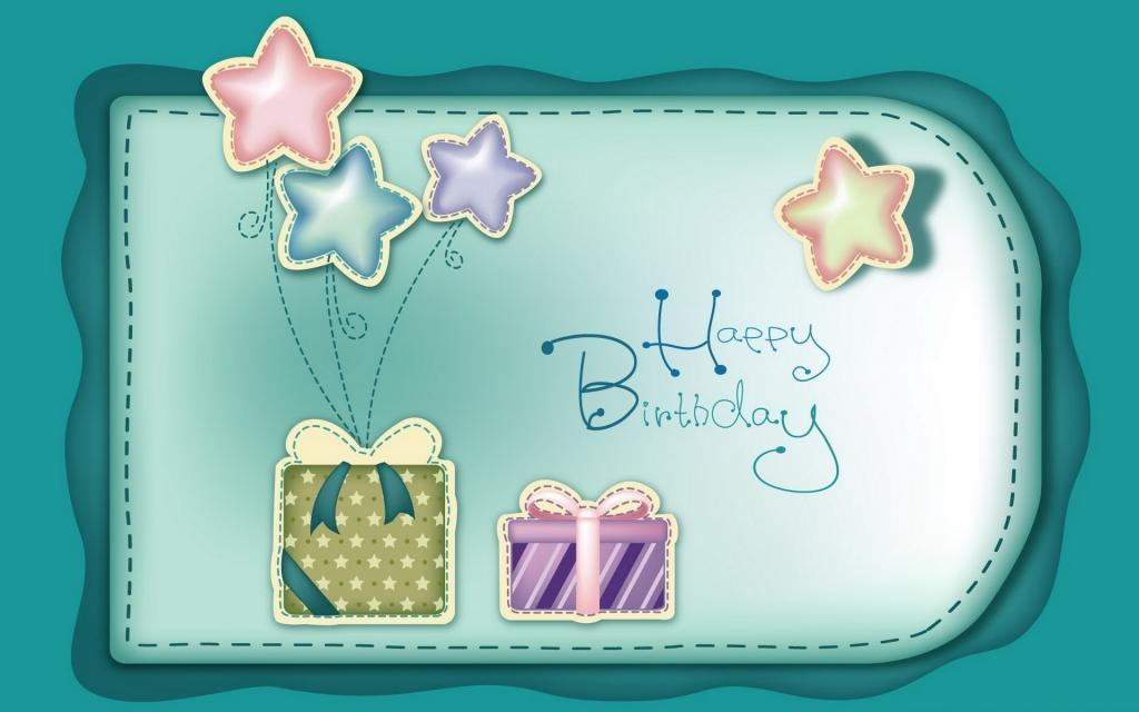 Открытка на День Рождения, обои на айфон 5 день рождения, 1920 на 1200 пикселей