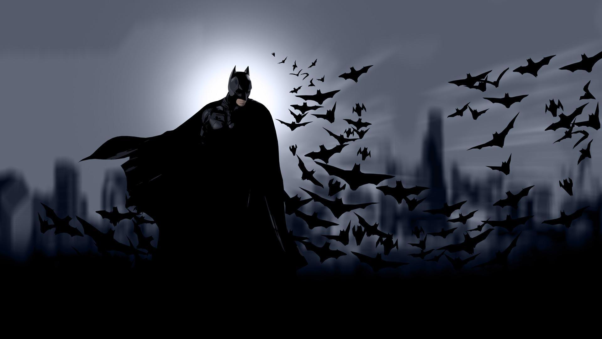 Бэтмен с мышами, Batman, кино обои на телефон, 1920 на 1080 пикселей
