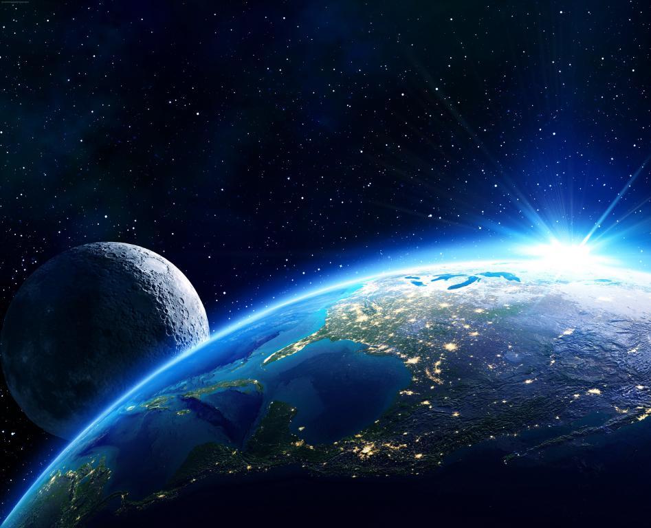 Планета Земля вид из космоса, space wallpaper 4k phone, заставки ультра hd, 5448 на 4417 пикселей