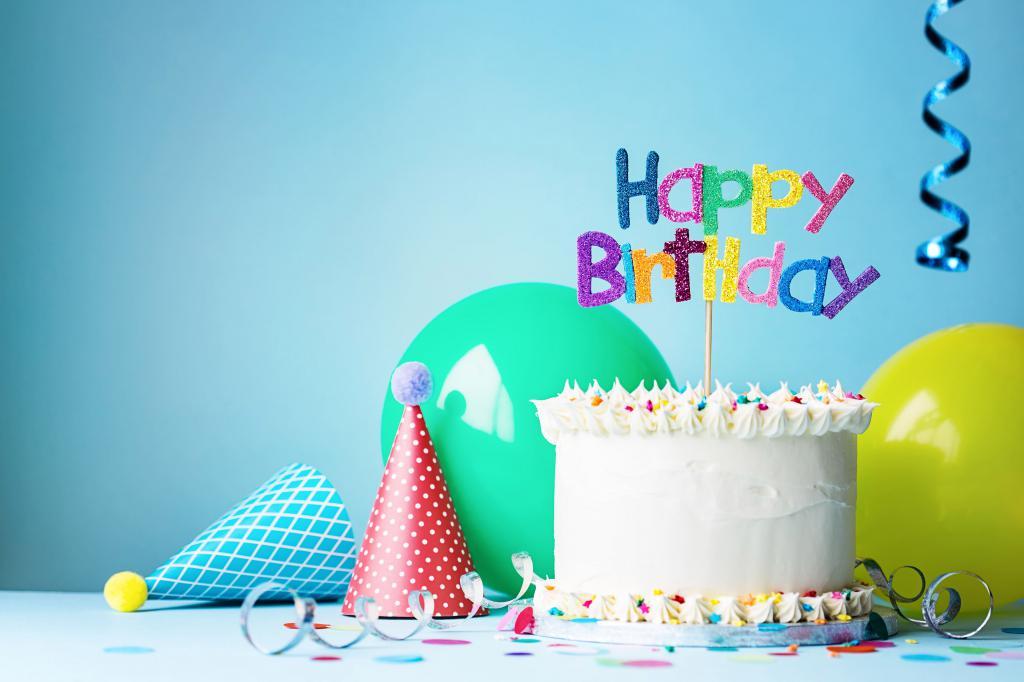 Happy Birthday, обои на день рождения, 3840 на 2560 пикселей