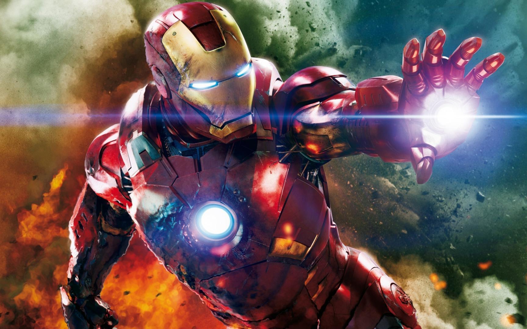 Обои Железный еловек на iphone, костюм, супергерой, 2560 на 1600 пикселей