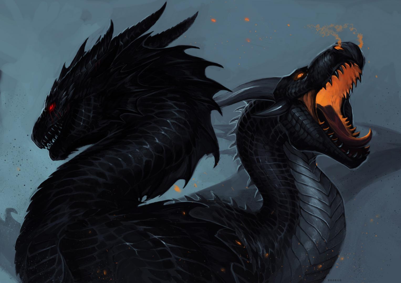дракон фэнтези обои, 3508 на 2480 пикселей