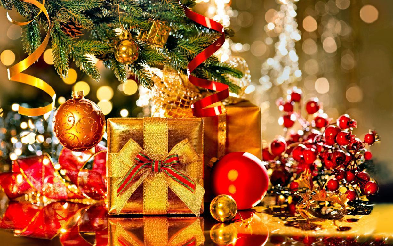 Подарки на Рождество обои на телефон андроид, 5120 на 3200 пикселей