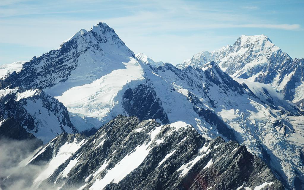 Зима в горах, обои снег горы, 2560 на 1600 пикселей