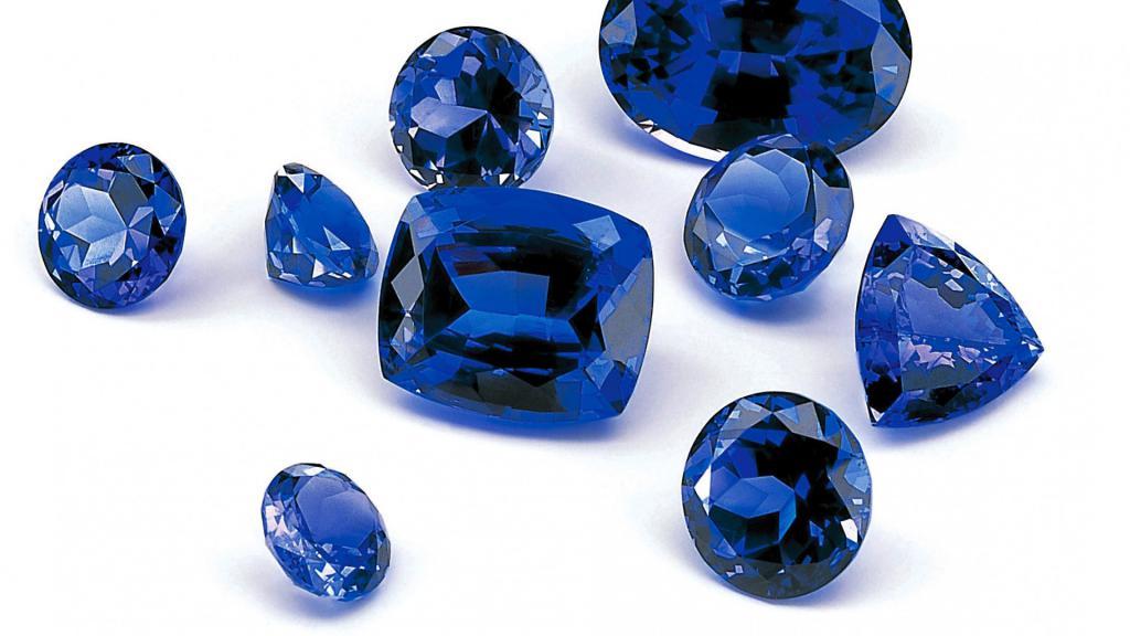 Синий сапфир драгоценный камень, 1920 на 1080 пикселей