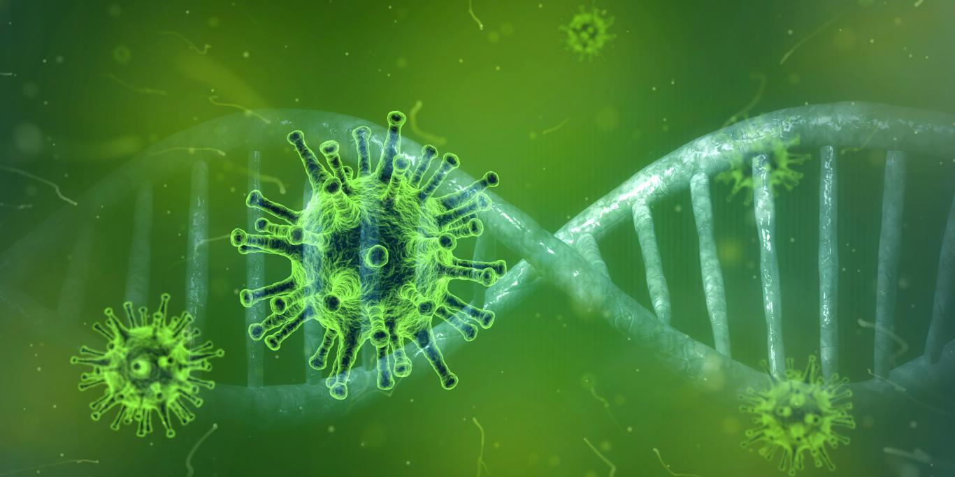 Коронавирус,  Covid 19, пандемия, 3600 на 1800 пикселей