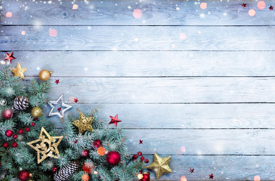 Деревянный фон для Новогодней открытки, Новый Год 2021, 3840 на 2525 пикселей
