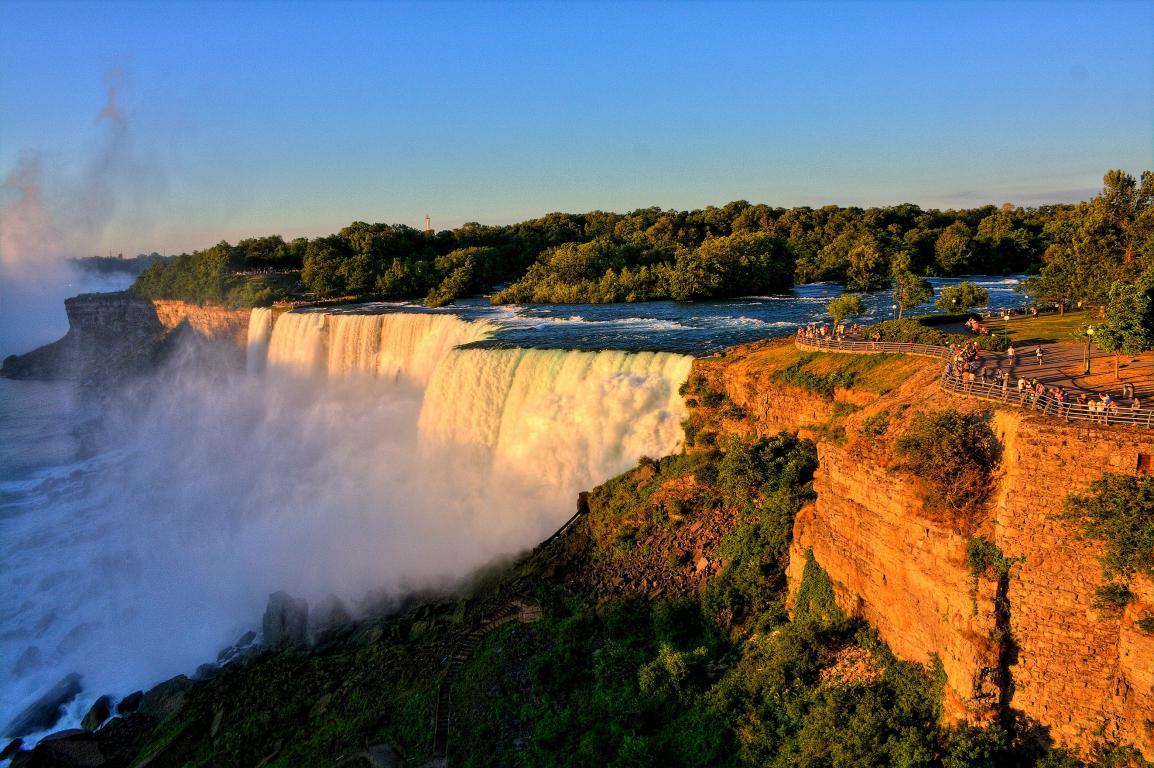 Ниагарский водопад обои на рабочий стол, 2645 на 1760 пикселей