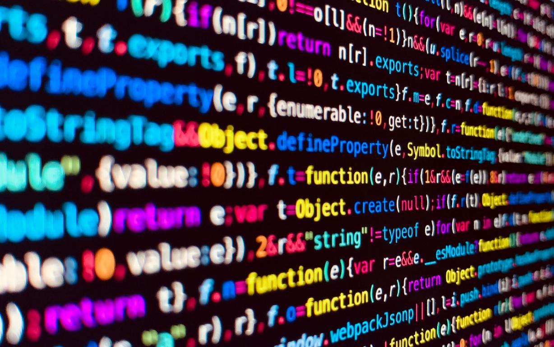 Разноцветный код программирование, 2560 на 1600 пикселей