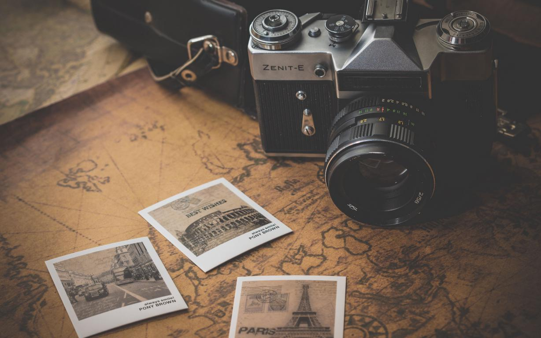 Ретро фотоаппарат Zenit-E, Зенит, винтаж, 3840 на 2400 пикселей