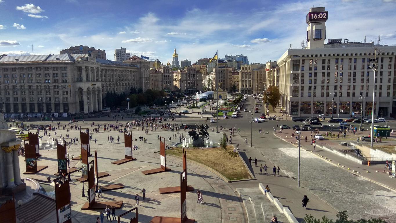 Киева, Украина, Майдан независимости, 4160 на 2340 пикселей