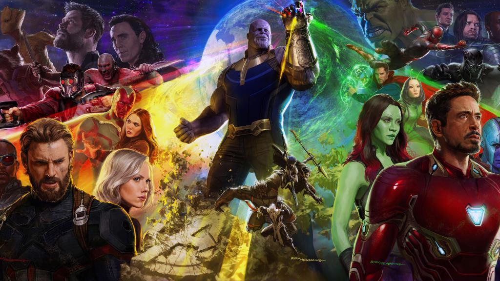 Мстители: Война бесконечности, 2560 на 1440 пикселей
