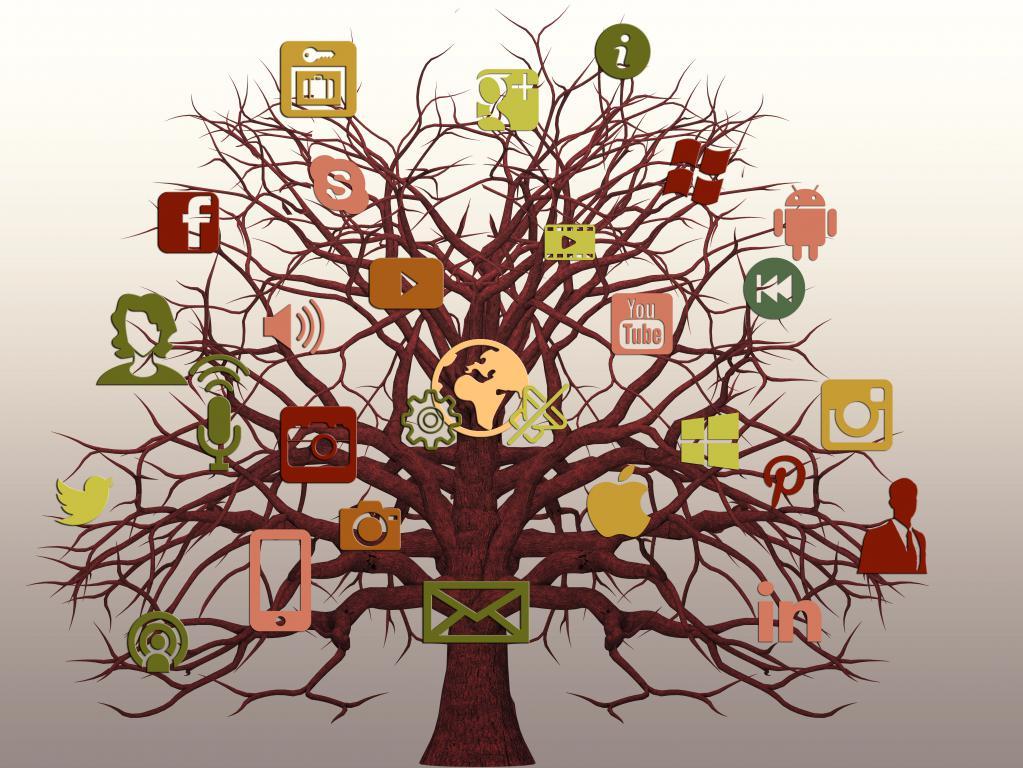 Социальные сети, YouTube, Google+, Instagram, Facebook, Twiter, лучшие широкоформатные обои, 5333 на 4000 пикселей