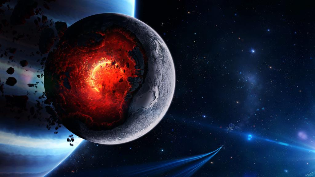 Планета, галактика, обои айфон 5s космос, space, hd заставки, 2560 на 1440 пикселей