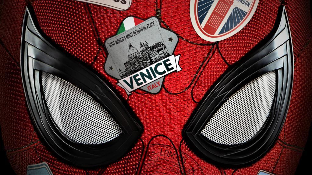 Человек паук Вдали от дома, 3840 на 2160 пикселей