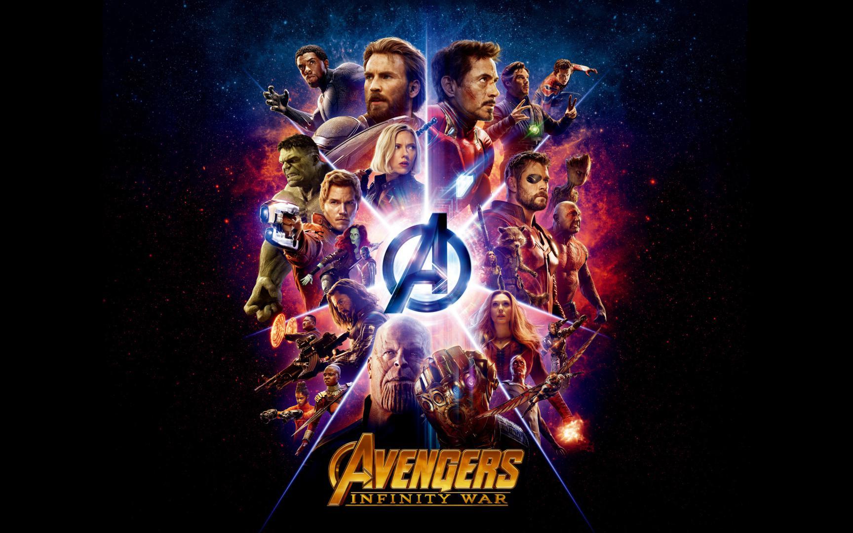 Скачать обои Мстители война, War of Infinity Avengers 3, 2560 на 1600 пикселей