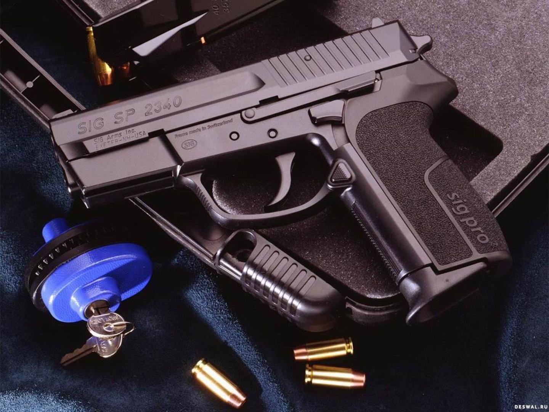 Пистолет SIG SP 2340, обои на телефон оружие HD, guns, 1600 на 1200 пикселей