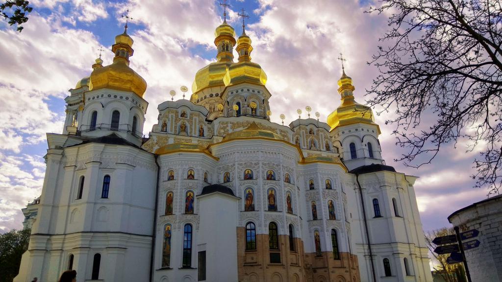 Киево-Печерская Лавра обои, храм, церковь, ultra hd 4k, 4160 на 2340 пикселей