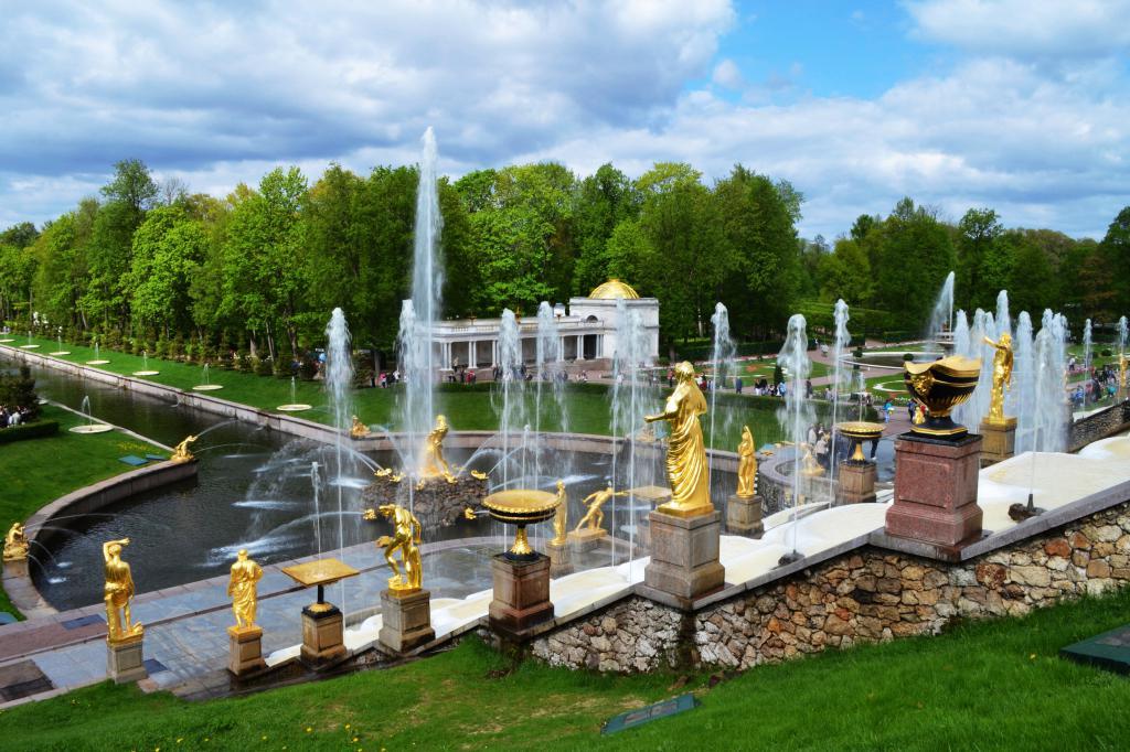 Санкт Петербург - Петергоф, Россия, обои красивые города мира, 4608 на 3072 пикселей