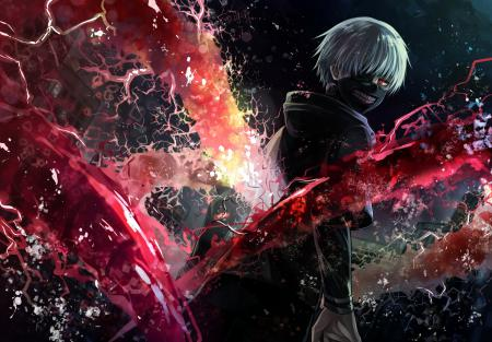 Аниме, хентай, anime Tokyo ghoul kaneki ken, anime wallpaper HD for pc